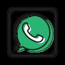 Whatsapp Social Media Network Icon