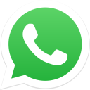 Whatsapp Icon in Flat Style