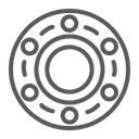 Bearing Car Vehicle Icon