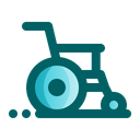 Wheelchair Health Care Hospital Icon