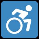 Wheelchair Symbol Access Icon