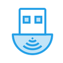 Wifi Adapter Receiver Icon