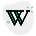 Wikipedia Technology Logo Social Media Logo Icon