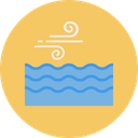 Wind Air Ocean Icon