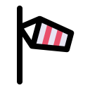 Wind Direction Indicator Icon