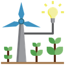 Wind Energy Wind Mill Ecology Icon