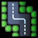 Winding Road Icon