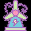 Windmill Energy Power Icon