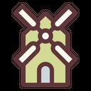 Windmill Turbine Mill Icon