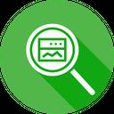 Window Search Seo Icon