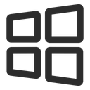Window System Operative System Technology Icon