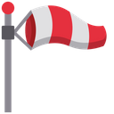 Windsock Wind Direction Wind Speed Icon
