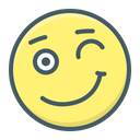 Emoji Positive Smiley Icon