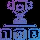 Winner Podium Champion Icon