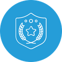 Winner Award Shield Icon