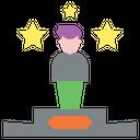 Winner Leader Business Leadership Icon