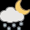Winter Night Icon