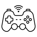 Game Internet Joystick Icon