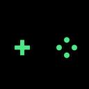 Wireless Joystick Joystick Game Icon