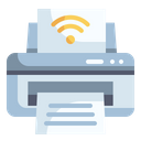 Printer Internet Of Things Electronics Icon