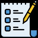 Wish List Checklist List Icon