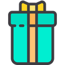 Long With Ribbon Gift Icon