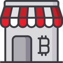 Bitcoin Market Market Cryptocurrency Icon