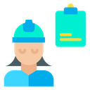 Woman Note Icon