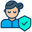 Woman Protection Icon