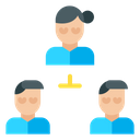 Work Team Group Icon