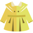 Cloth Frock Girl Icon