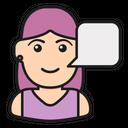 Woman Voice Icon