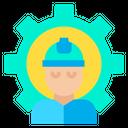 Worker Employee User Icon