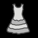 Womans Dress Icon