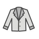 Womans Formal Coat Icon