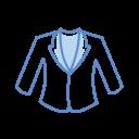Womans Coat Icon