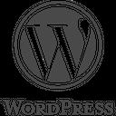 Wordpress Plain Wordmark Icon
