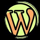 Wordpress Simple Social Logo Social Media Icon