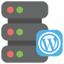 Wordpress web hosting Icon