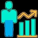 Analytics Analysis Employee Icon