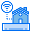 Home Wifi Keyboard Icon