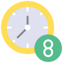 Work Timing Working Hour Job Time Icon
