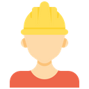 Worker Constructor Employeee Icon
