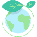 World Leafs Green Icon