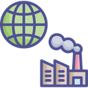 World Industry World Business Haze Icon