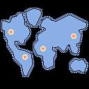 Endemic Distribution Disease Icon