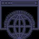 Worldwide Website Icon