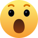 Wow Face Emotion Icon