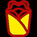 Wrap Fast Food Junk Food Icon