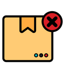 Wrong Package Package Logistic Icon